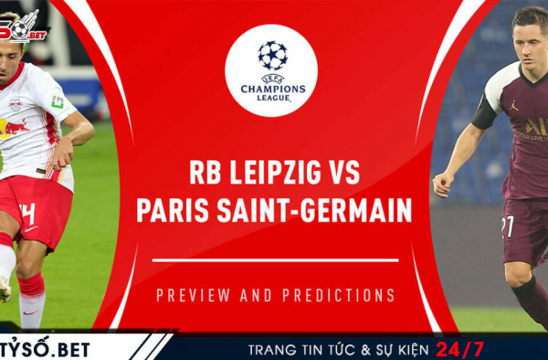 Soi kèo Champion League 04/11 RB Leipzig vs PSG